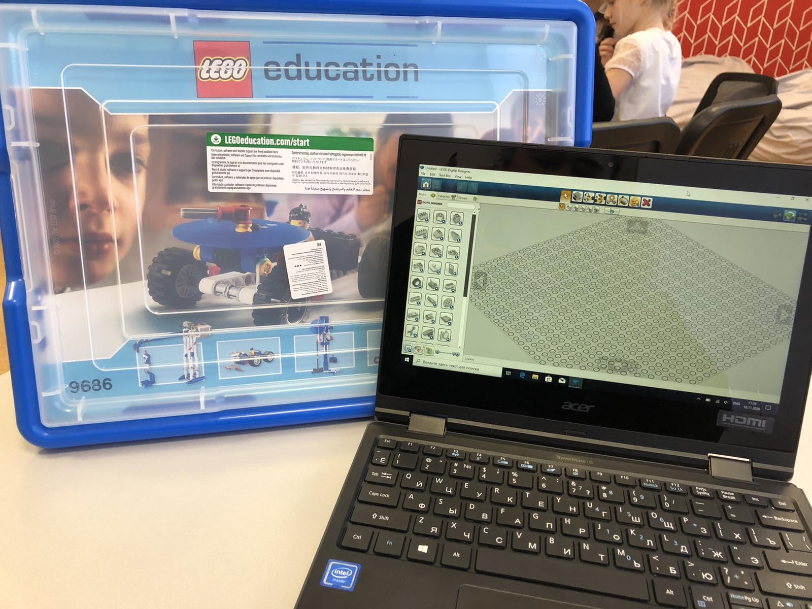 Знакомство с программой  LEGO Digital Designer