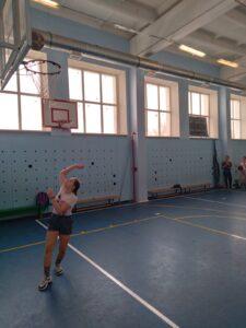 Занятие секции «Баскетбол»