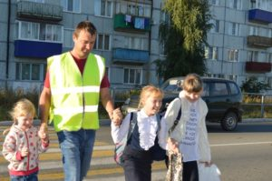 В нашей школе проводится акция «Возьми ребёнка за руку!»